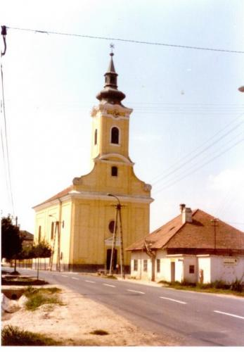 Kossuth L. utca 70-es években 2